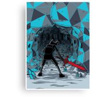 The Ice Awakens Canvas Print
