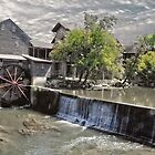 The Olde Mill in Pigeon Forge by LarryB007