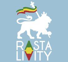 Rasta Livity WHT STK Kids Clothes
