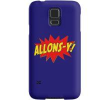 Allons-y! (Comics) Samsung Galaxy Case/Skin