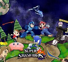 Super Smash Bros. Scene by InfernoApple