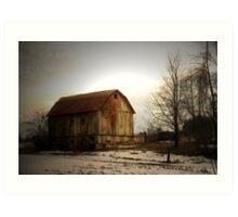 Quiet Barn Art Print