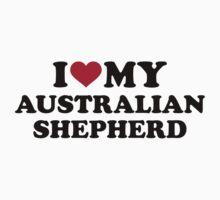 I love my Australian shepherd by Designzz