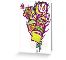 PsYcHoDeLiC! Greeting Card