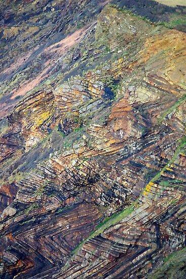 Rock Patterns by M G  Pettett