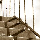 Stairs,steps & shadows in lines by ragman