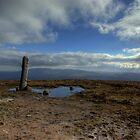 Pillar and Pool on top of Slievenamon (3) by Mark O'Toole
