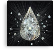 Diamond Power Canvas Print