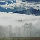 Blanket of Clouds by Mistral Hill  Photography