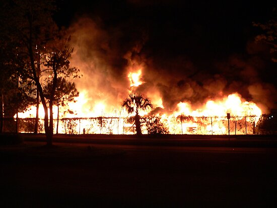Carport Ablaze by kevint