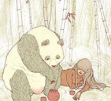 Panda Tea Party by Chelsea Greene Lewyta