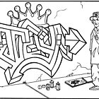 My attempt at Graffiti by Teroso