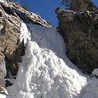 Iced Covered Water Fall! by WILDBRIMOWILDMAN