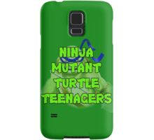 Ninja Mutant Turtle Teenagers Leonardo Samsung Galaxy Case/Skin