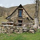 The Pyrenees, the old barn by Corinne Pouzet
