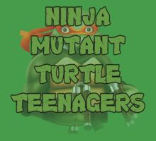 Ninja Mutant Turtle Teenagers Michelangelo by David Bodo