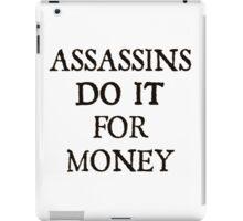 d20 Scoundrels: Assassins Do It For Money iPad Case/Skin