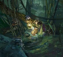 Lost in the Woods by marcscheff