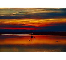 Sunset Over The Crouch Photographic Print