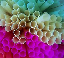 Rainbow Straws by PhotoFox