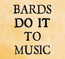 d20 Scoundrels: Bards Do It To Music by Grace Roche