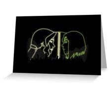 Avatar - Korra And Asami Greeting Card