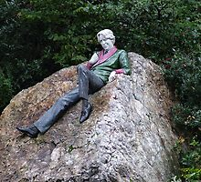 Oscar Wilde in Merrion Square by Margaret Zita Coughlan