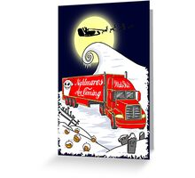 Nightmares Are Coming Greeting Card