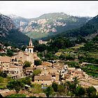 Spanish town of Valdemossa in Mallorca by Philip  Rogan