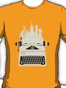 Typewrite a City T-Shirt
