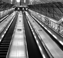 Holburn Tube Station by DavidFrench