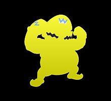 Wario Yellow Shadow/Outline by Violentsofa