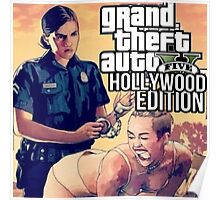 GTA HOLLYWOOD EDITION (FT. MILEY CYRUS) Poster