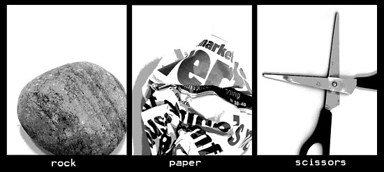 rock paper scissors by lisa1970