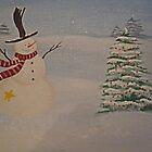 the happy snowman by vigor