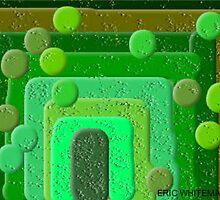 (GREEN) ERIC WHITEMAN ART  by eric  whiteman