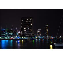 Melbourne at night 11 Photographic Print