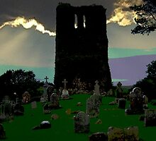 Old Nobber Graveyard - County Meath, Ireland by S.I. Sheehan