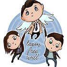 Team Free Will by Tiia Öhman