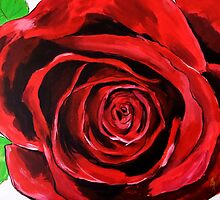 The Red Red Rose by Julie Hollis