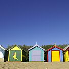 Brighton Bathing Boxes by melbourne