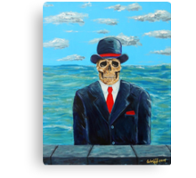 After Magritte Canvas Print