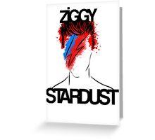 Ziggy Played Guitar Greeting Card