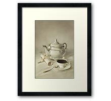 China set Framed Print