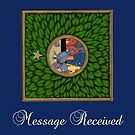 NEW! Oracle Card - The Pigeon by Donna Huntriss
