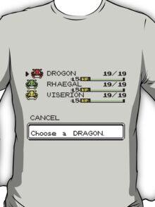 Choose a dragon T-Shirt