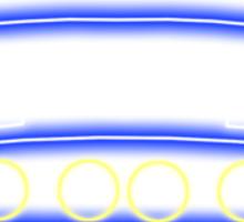 Mini Glow T Shirt - Blue Sticker