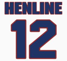 National baseball player Butch Henline jersey 12 by imsport