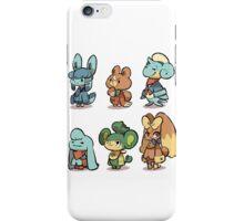 animal crossing pokemon crossover iPhone Case/Skin
