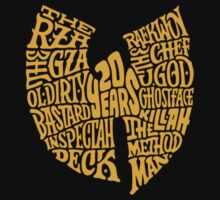 Wu-Tang Clan 20th Anniversary by Dyzce